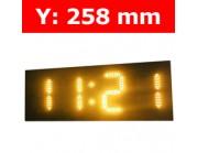 """Πινακίδα led για Ρολόι Θερμοκρασία / Αντ. μέτρηση/ Ρολόι - 10"""""""