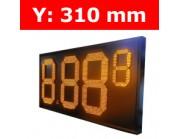 """Πινακίδα led για τιμοκαταλογους - βενζινάδικα - 12"""""""