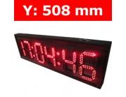 """Πινακίδα led για Ρολόι Θερμοκρασία / Αντ. μέτρηση/ Ρολόι - 20"""""""