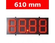 """Πινακίδα led για τιμοκαταλογους - βενζινάδικα - 24"""""""