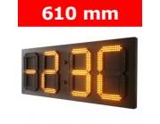 """Πινακίδα led για Ρολόι Θερμοκρασία / Αντ. μέτρηση/ Ρολόι - 24"""""""