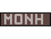 LED επιγραφές Μονής όψης Μονόχρωμα