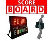 LED Φορητή Πινακίδα Ενδειξης Score