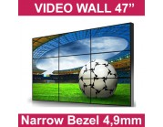 "LCD Video Wall 47"", Bezel 4,9mm"
