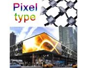Led Facade πρόσοψης κτηρίων Pixel Type (55mm)