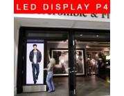 Led Display P4 για βιτρίνες καταστημάτων